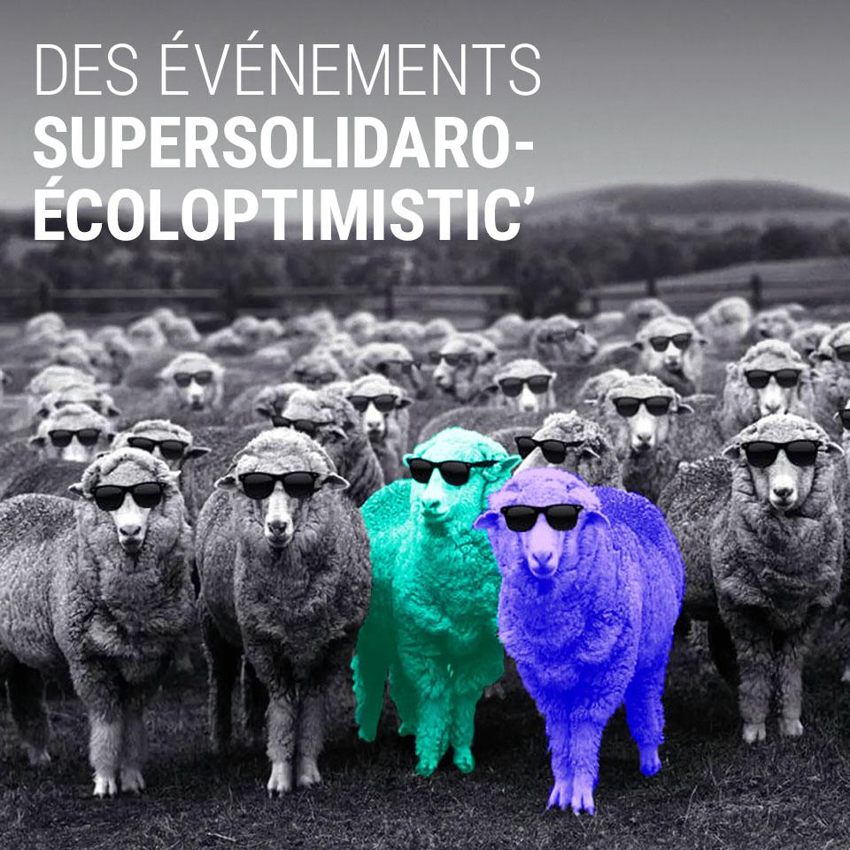 Edgee-Accueil des événements Supersolidaroécoloptimistic' agence événementielle