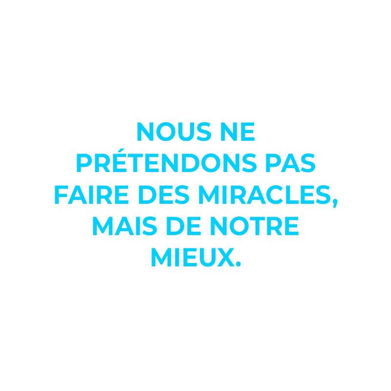 Edgee agence événementielle évènements Paris Nous ne prétendons pas faire des miracles mais de notre mieux